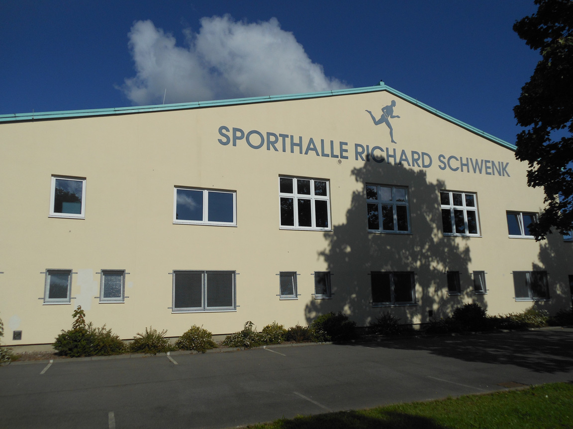 Trainingsort Richard-Schwenk Sporthalle